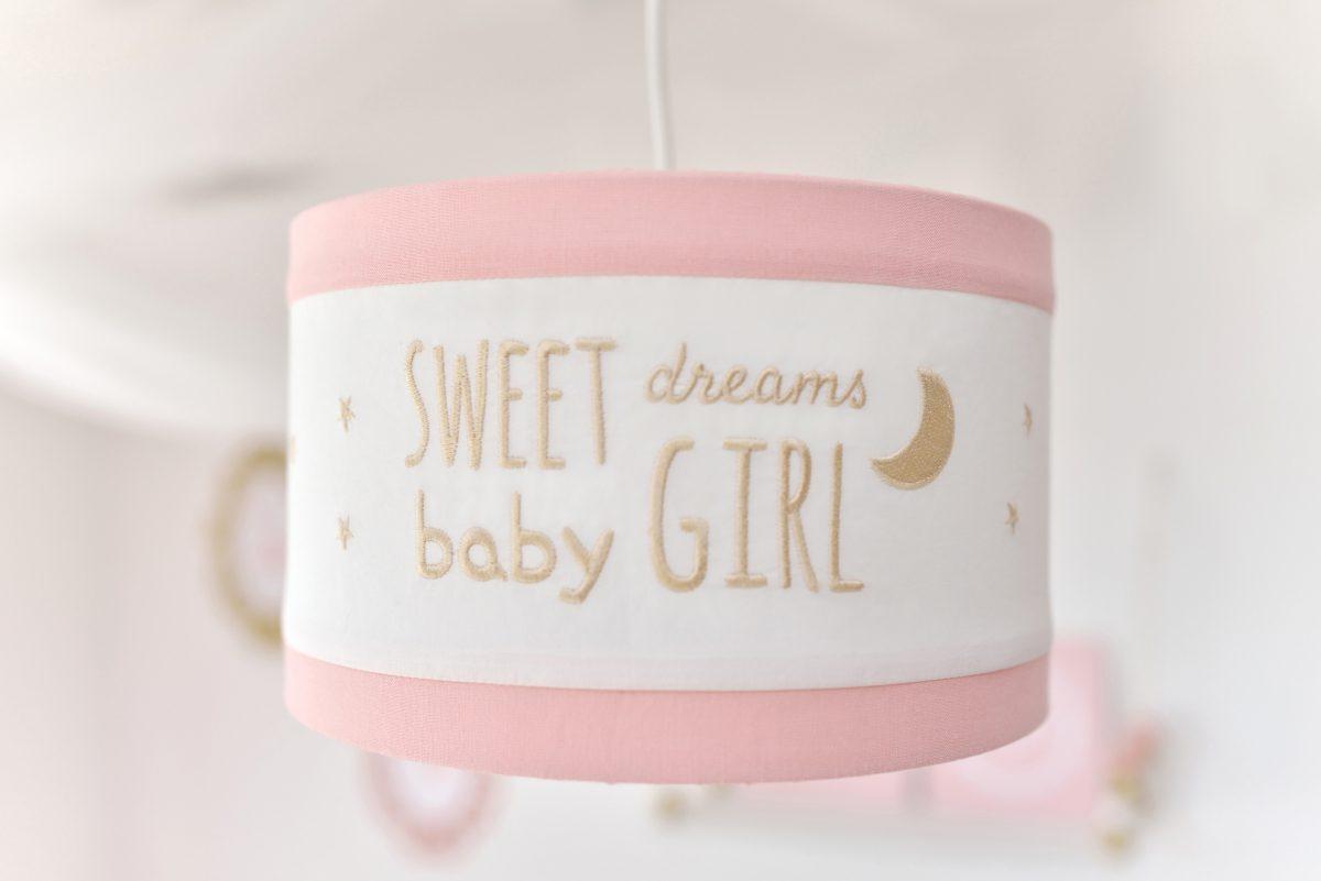 feliratos lámpa, Tutu Cute, gyerekszoba lámpa