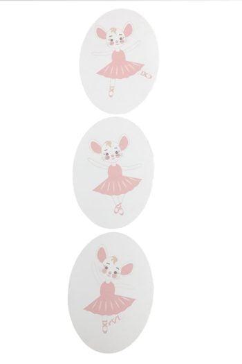 balerinás fali kép 3-as szett