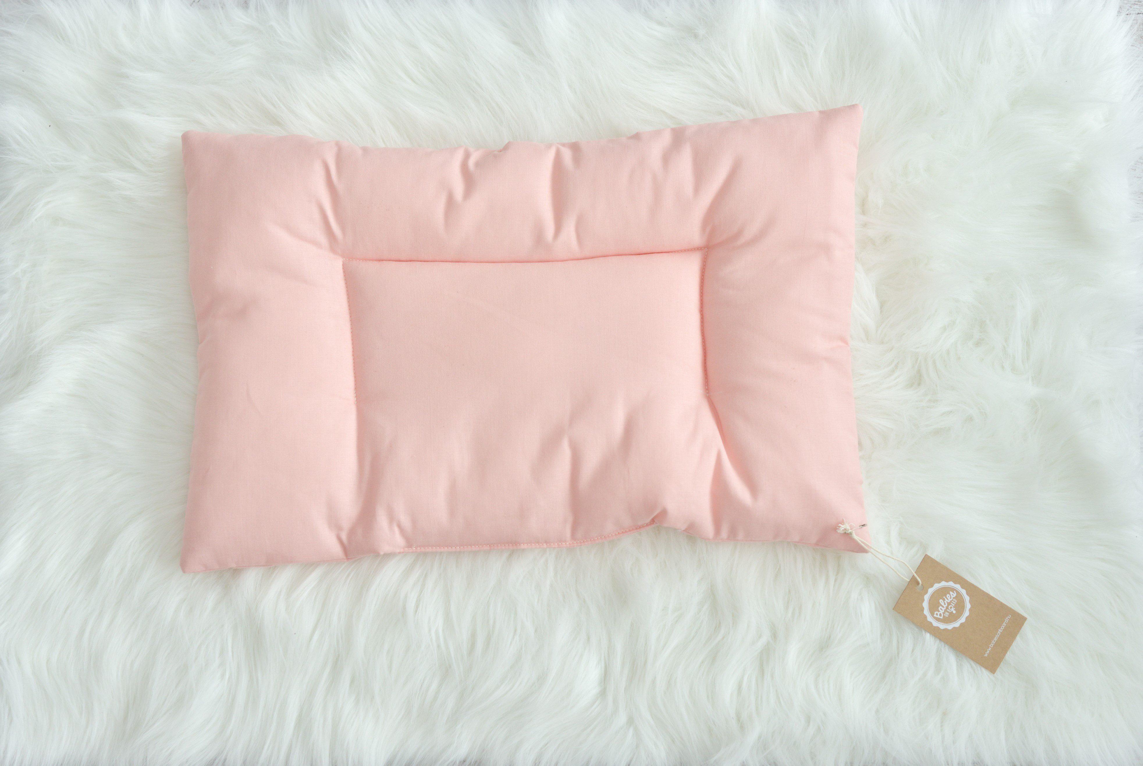 rózsaszín baba- és gyerekpárna, Tutu Cute, tiszta pamut