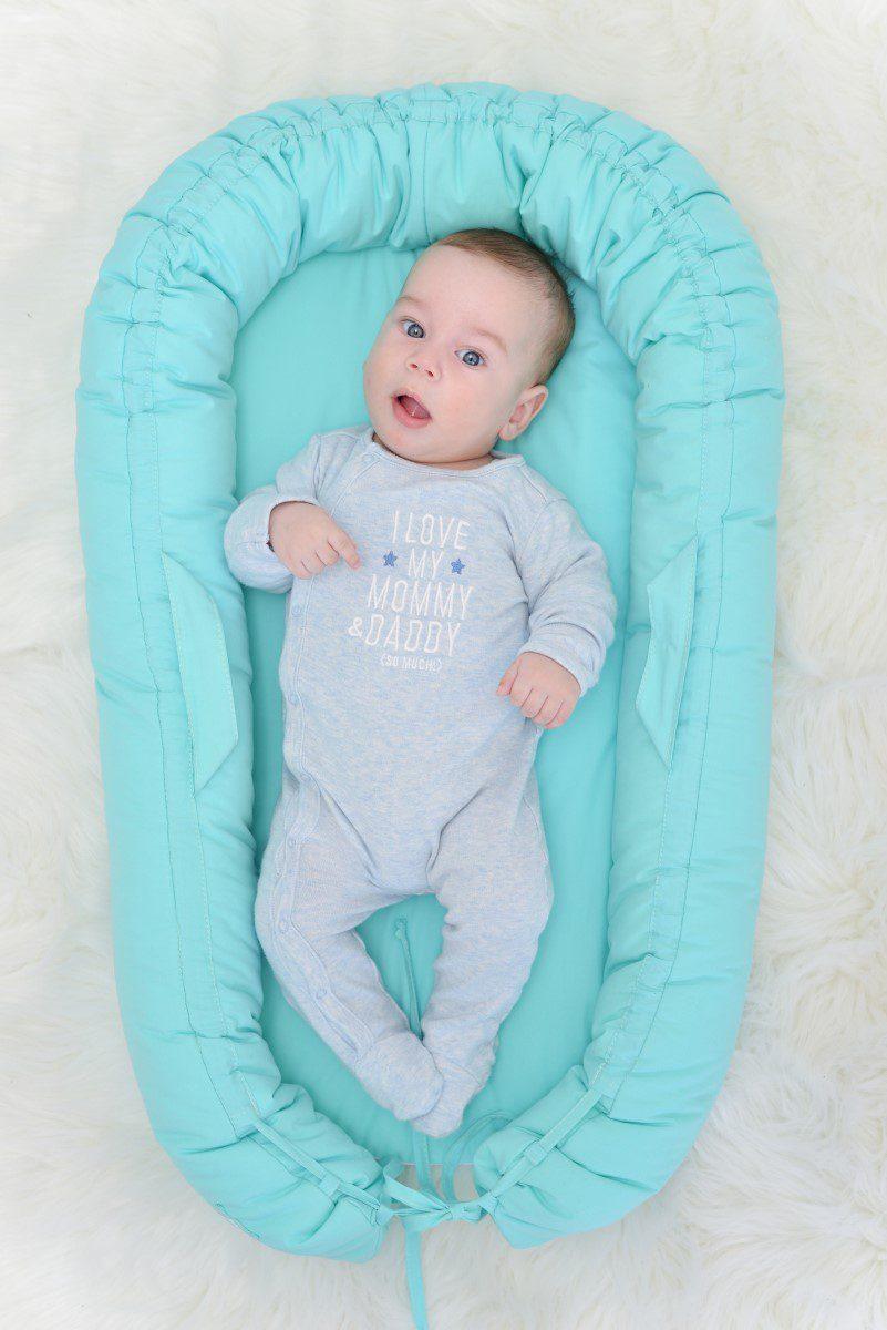 kék babafészek, Babies on Board Every day SONday, tiszta pamut